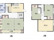 間取り図 1階&2階